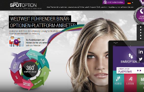 Spotoption als Plattform für Binäre Optionen überzeugt durch eine intuitive Bedienung