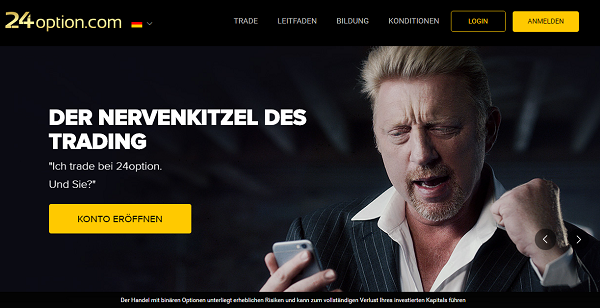 24option Boris Becker