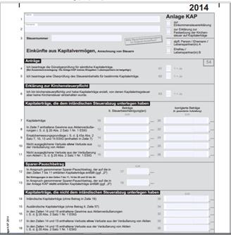 Abgeltungssteuer eToro Einkommenssteuererklärung