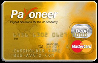 AvaTrade (AvaFx) Auszahlungen Ava Debit MasterCard®