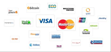 Die Zahlungsoptionen von Binary.com