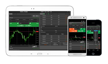 FxPro cTrader Android iOS