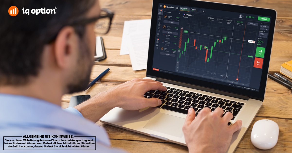 IQ Option Krypto-Broker Testsieger