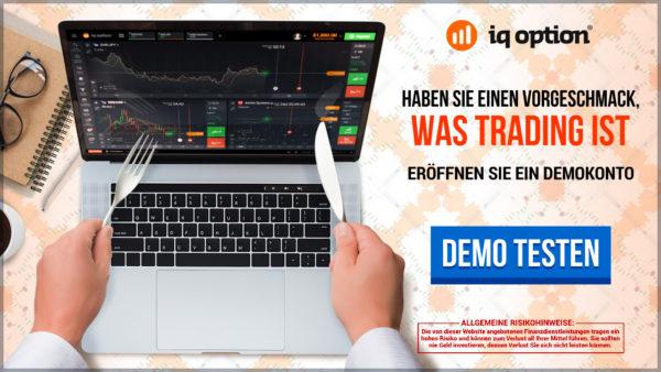 Über das Demokonto können Trader IQ Option kenenlernen