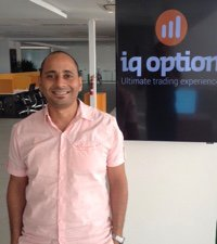 IQ Option Accountmanager Maged Zaki.