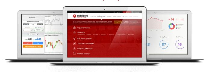 InstaForex Handelsplattform