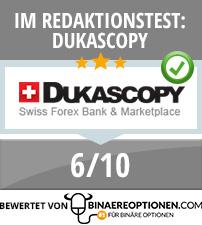 Dukascopy Erfahrungen von Binaereoptionen.com