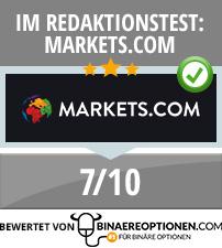 Markets.com Erfahrungen von Binaereoptionen.com