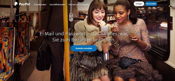 PayPal Kundenkonto registrieren