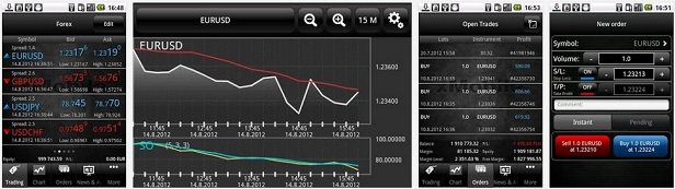 XTB App Handelsplattform