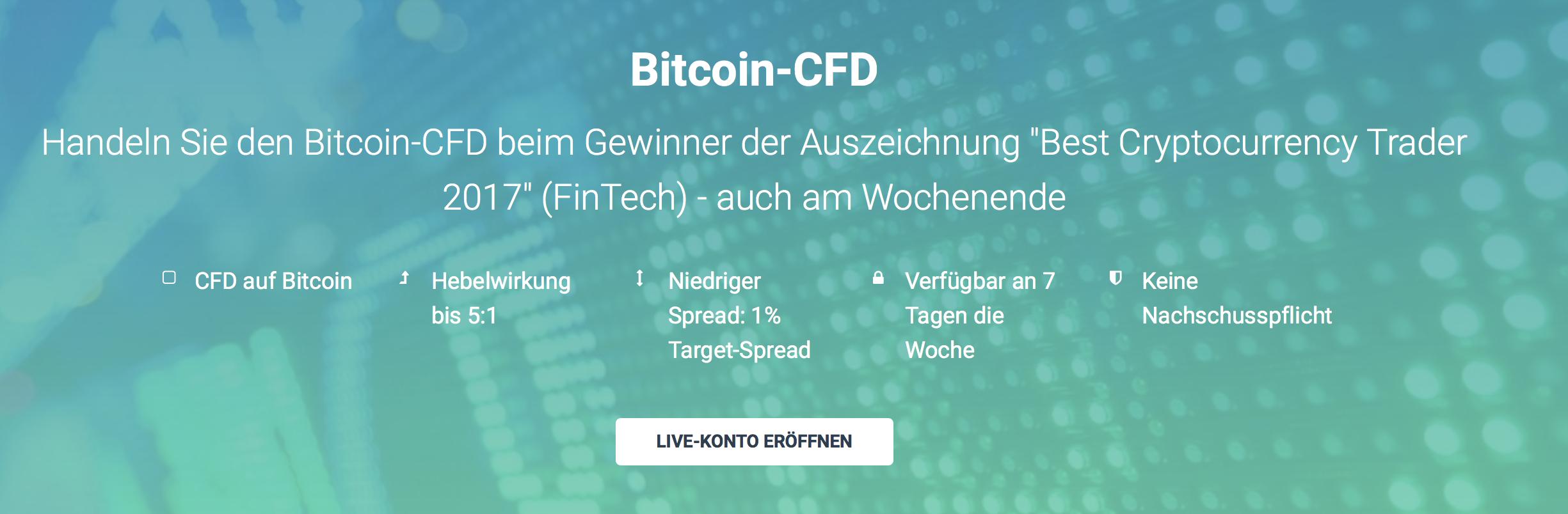Der Handel mit CFDs auf Bitcoin ist bei XTB auch am Wochenende möglich