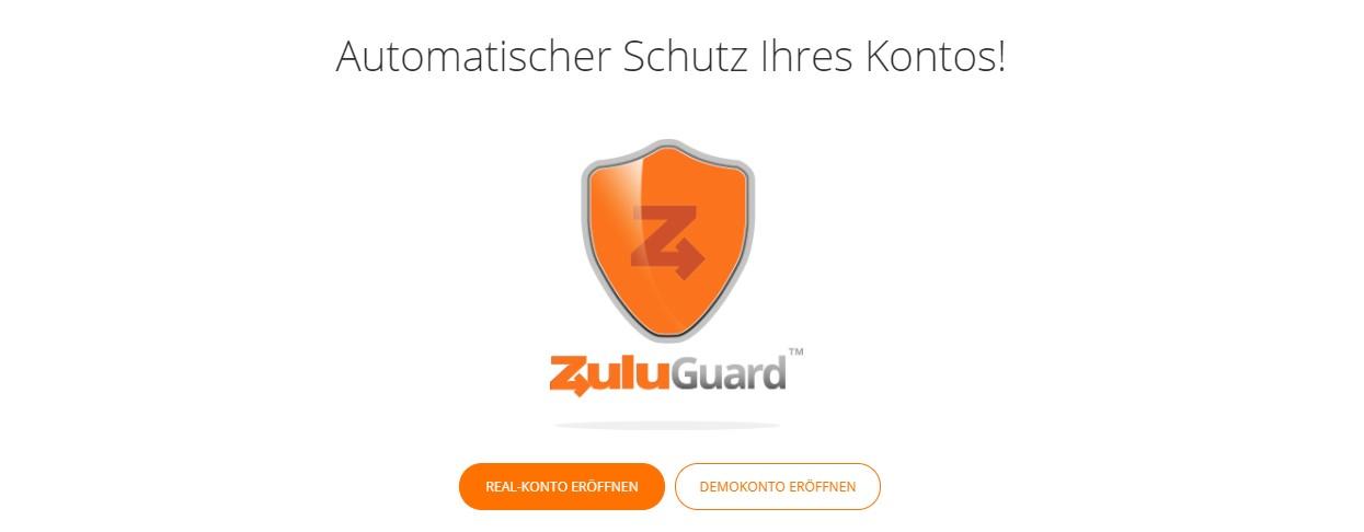Zulutrade bietet den ZuluGuard zu Ihrem Schutz an