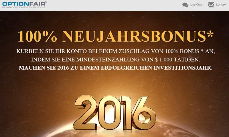 Screenshot Bonusaktion OptionFair