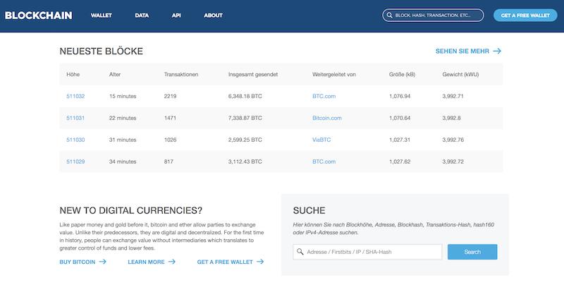 Blockchain.info Erfahrungen von BinaereOptionen.com