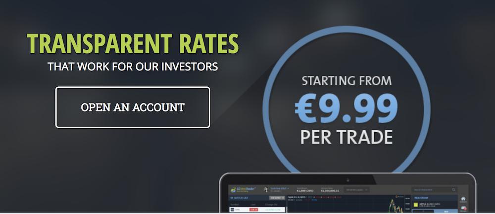 Die Kosten sind bei ccTrader überschaubar - der Handel ist ab 9,99 € möglich