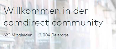 comdirect-Community-Mitglieder-Beiträge