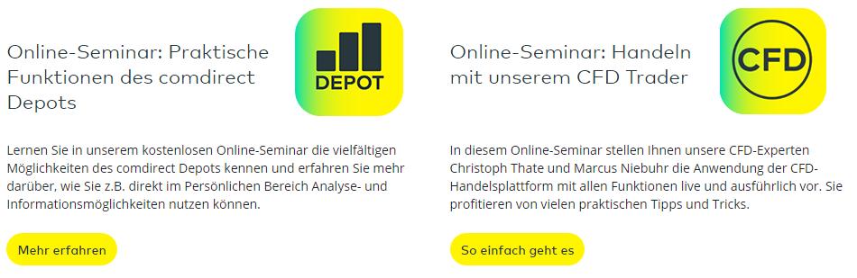 comdirect-Webinare-Ansicht