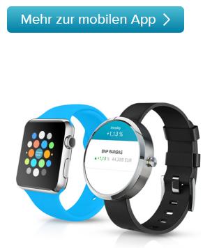 Consorsbank-App-Smartwatch