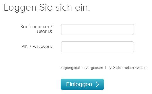 Consorsbank-Demo-Login
