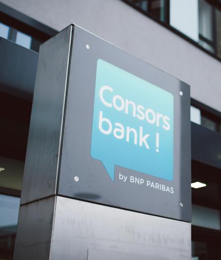 Consorsbank-Logo-Gebäude