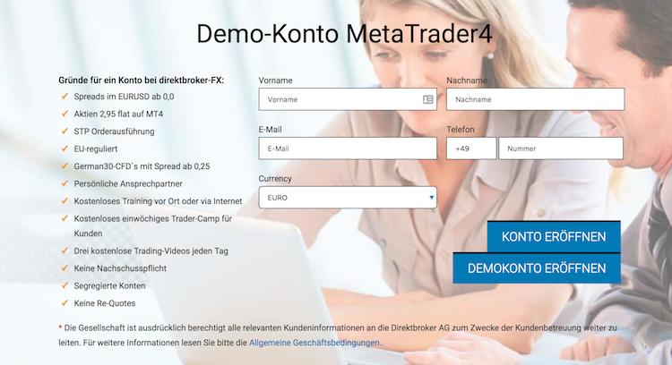 direktbroker.de Demokonto