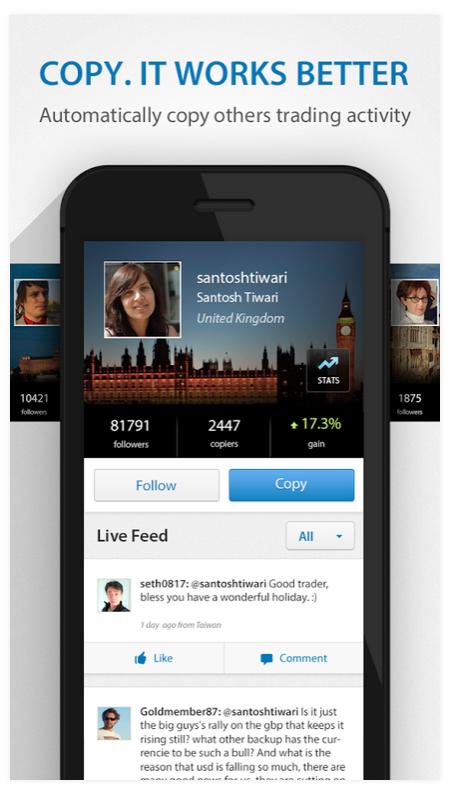 eToro App iPhone Android OpenBook