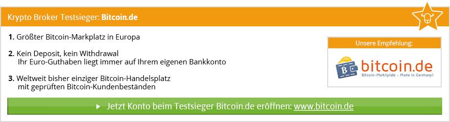 Krypto Börsen Vergleich von BinaereOptionen.com