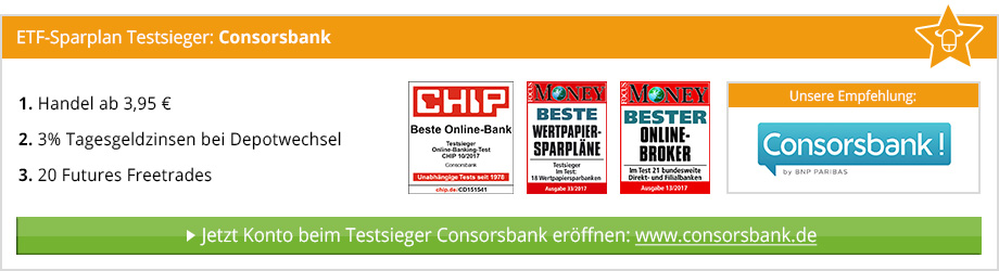 ETF Sparplan Vergleich von BinaereOptionen.com