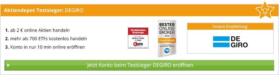 Beste Aktien App im Test