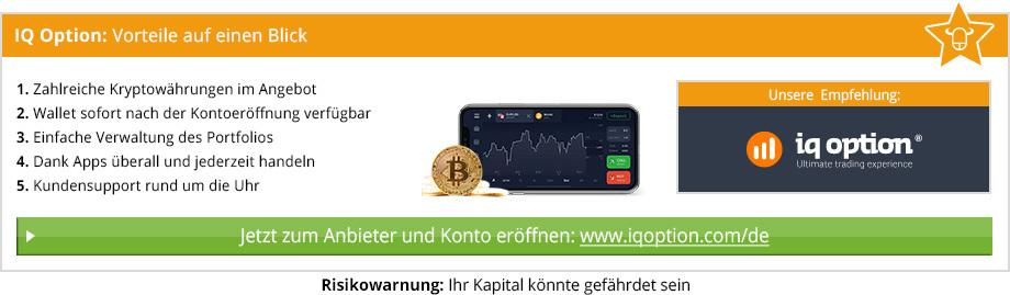 Wallet Anbieter Vergleich von BinaereOptionen.com