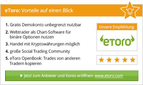 Bester Social Trading Broker eToro
