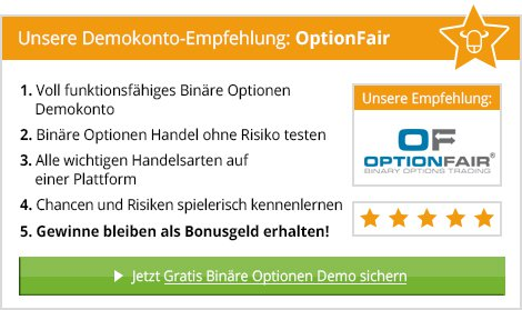 Binaere optionen demo account cfd ingenieur