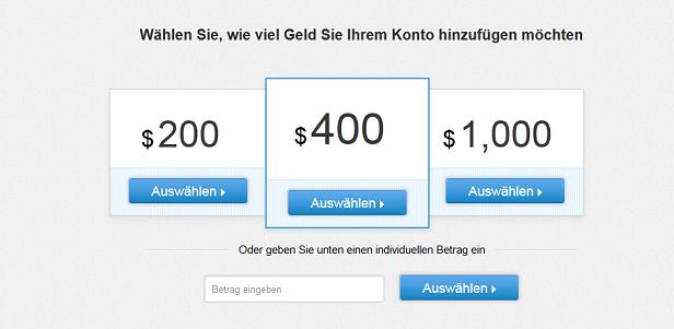 eToro Auszahlung dauer Deposit