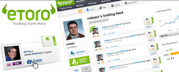 eToro CopyTrader Anleitung Social Trading