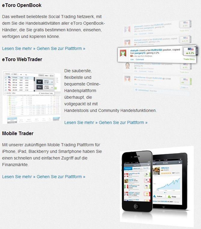 Trading Plattform Vergleich