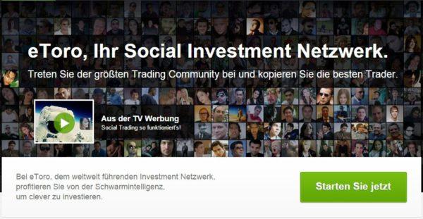 eToro Social Trading Gewinne und Abgeltungssteuer