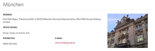 FIBO Group Kontakt