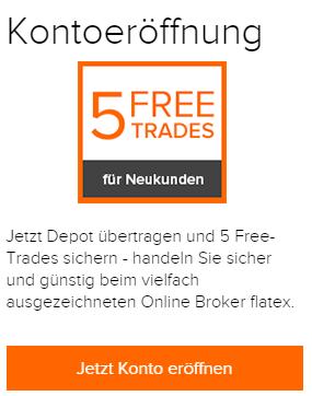 flatex-Neukunden-Free-Trades