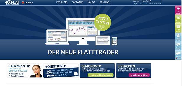 FXFlat Webtrader Konto eröffnen
