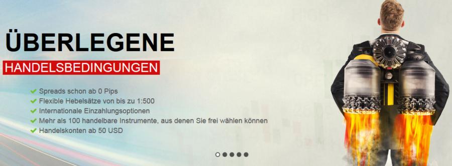 fxnet Webauftritt