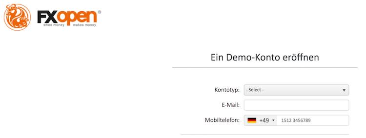 FXOpen Demokonto