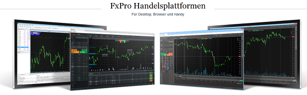 FxPro Demo Account Handelsplattform