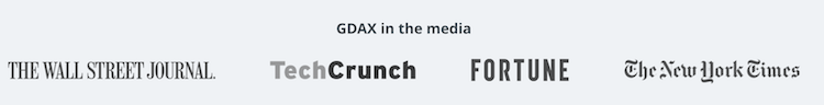 GDAX.com Fachpresse