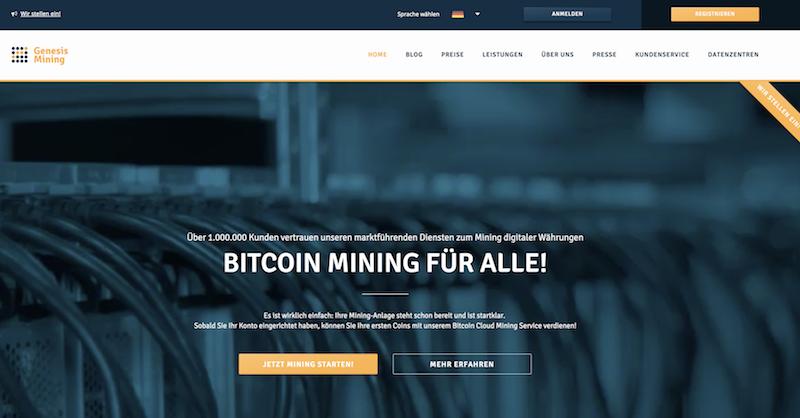 Genesis Mining Testsieger Mining Vergleich