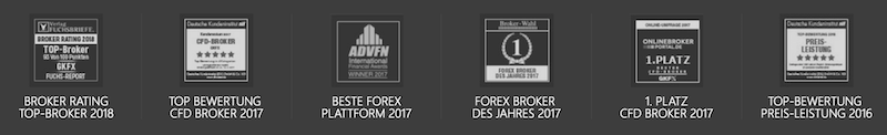 Der Forex- und CFD-Broker GKFX erhielt schon zahlreiche Auszeichnungen
