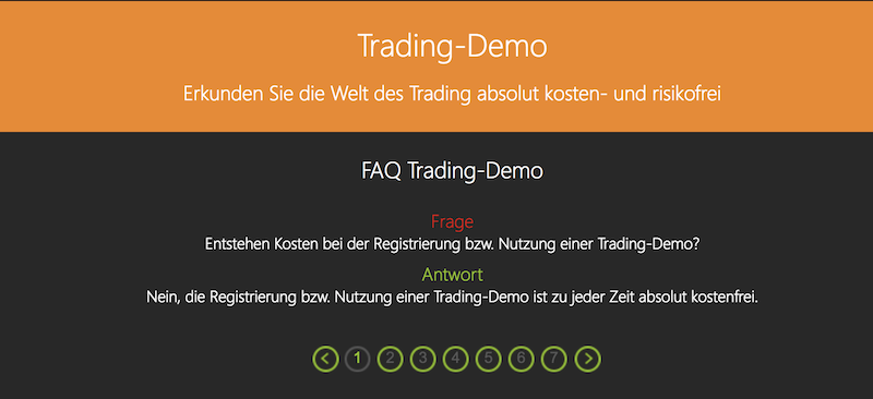 GKFX Demokonto