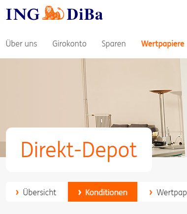 ING-DiBa-Direkt-Depot