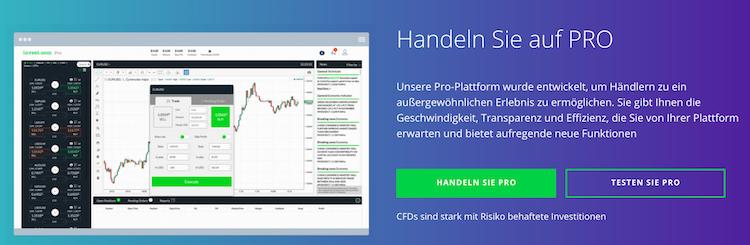 invest.com Handelsplattform