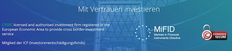 invest.com Regulierung