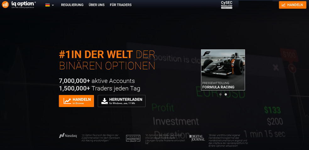 B iq option auto trader